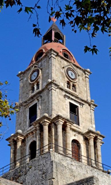 Rodas. Torre del Reloj
