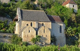 La Roque-Gageac : Iglesia