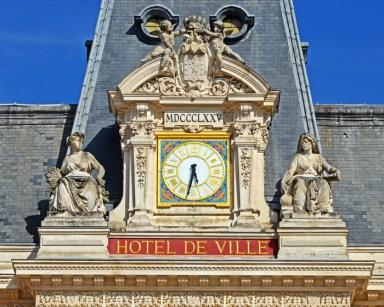 Reloj del Hôtel de Ville