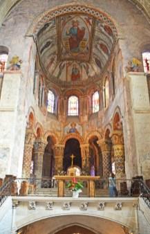 Altar Mayor - Frescos de Santa Radegunda