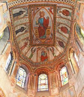 Santa Radegunda - Frescos