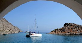 Pedi. Bahía de Agia Marina