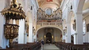 Interior Iglesia NªSª (Unsere Liebe Frau)