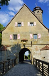Puerta de acceso al Castillo de Altenberg