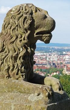Vistas de Bamberg desde el Castillo