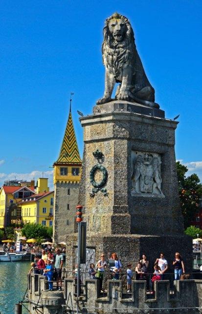 El León de Baviera y la Mangturm
