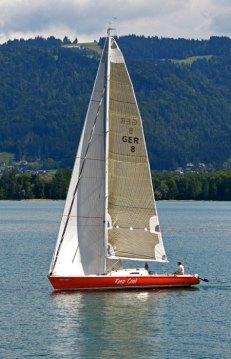 Navegando en el Lago Constaza