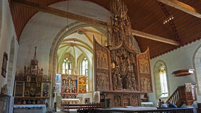 Altar de la Asunción de la Virgen (Marienaltar) - Creglingen