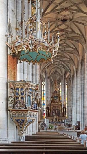 Púlpito - Catedral de Dinkelsbühl