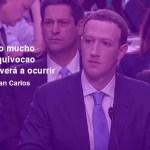 Zuckerberg se marca un juancarlos y cuela