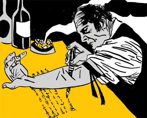 Los escritores y las drogas