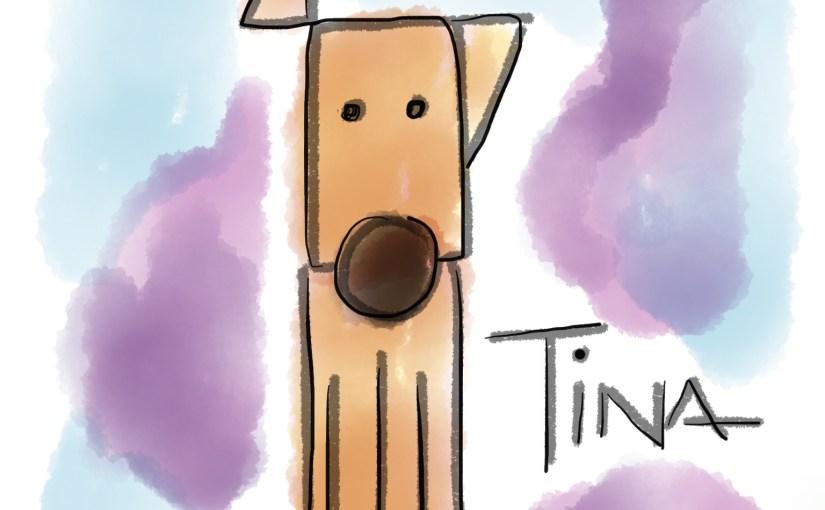 """Tina, """"la perrita más jeroz de tuitica la manada"""""""