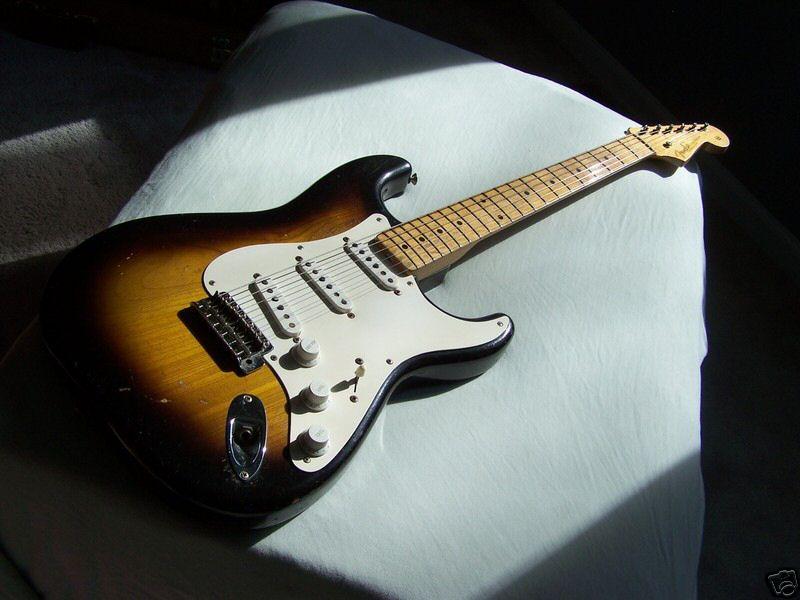 1956 Fender Stratocaster (Alder body)