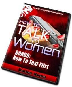 BONUS texting DVD6 sml - How to Talk to Women by Carlos Xuma