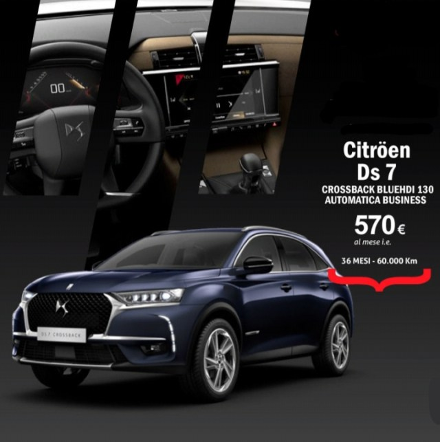Citröen Ds7 CROSSBACK BLUEHDI 130 AUTOMATICA BUSINESS Image