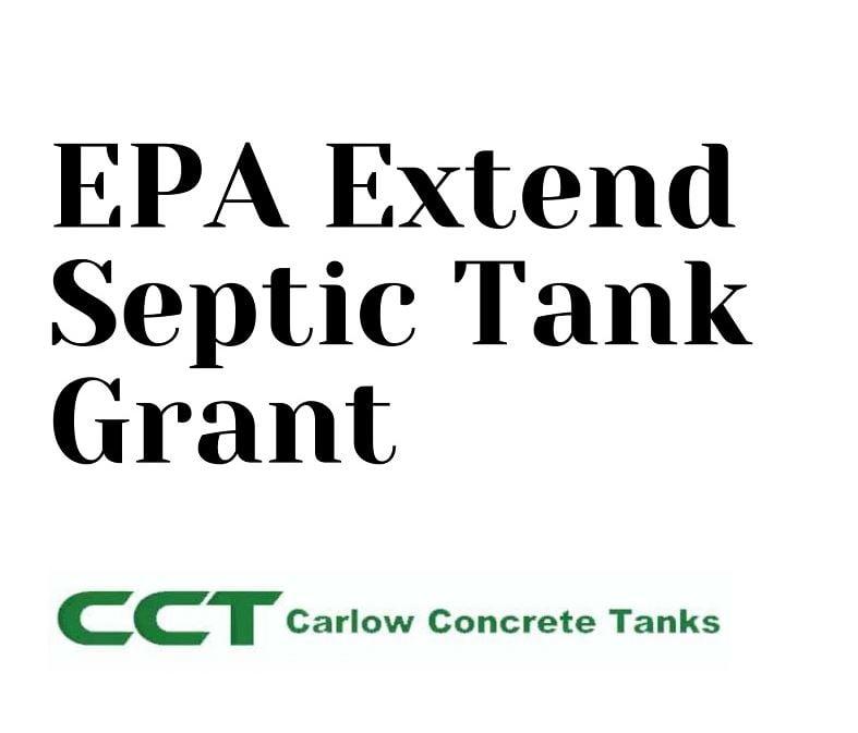 EPA Announce New Septic Tank Grant Scheme