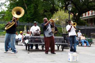 New Birth Brass band, Jackson Square