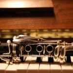 O bli hos meg. piano og klarinett