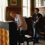 Creole Quartet til Nes Kulturhus. Wollert Krohn-Hansen, piano, Carl Petter Opsahl klarinett