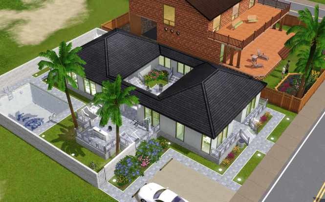 Sims House Design Games Online