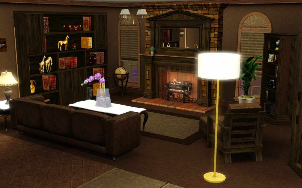 Sims 3 master bedroom for Sims 3 master bedroom ideas