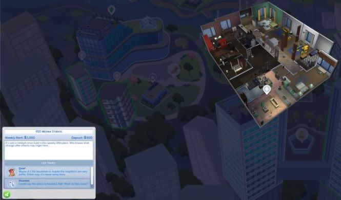 The Sims 4 Lot And Apartment Traits