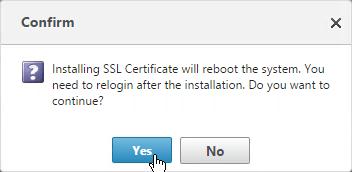 service certificate format