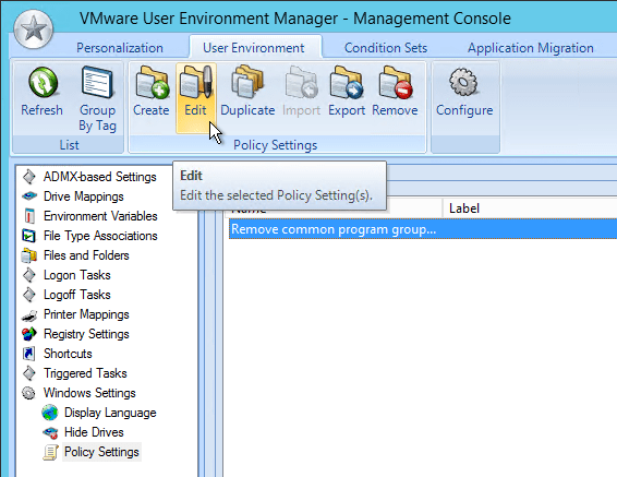 VMware User Environment Manager 9 8 – Carl Stalhood