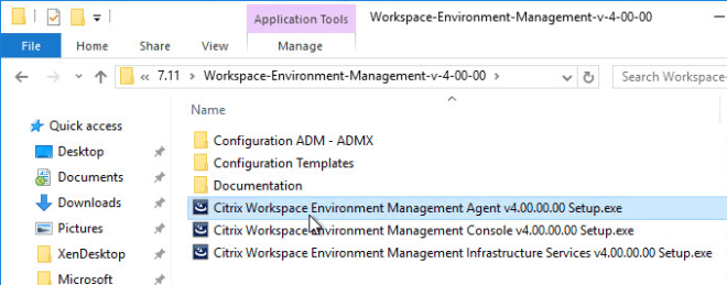 Workspace Environment Manager