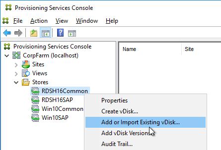 CITRIX VOYAGE: Citrix Provisioning Services (PVS)