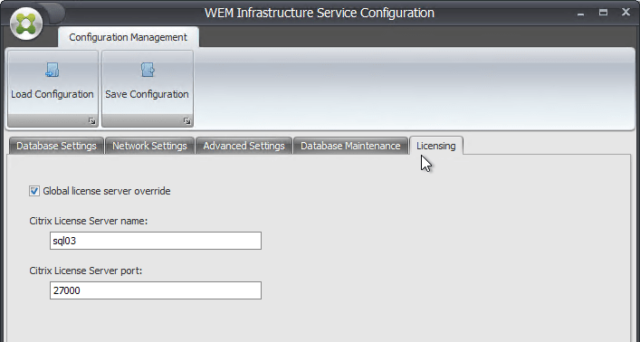 on the licensing tab you can enter a citrix license server 111401 or newer that has valid licenses or you can enter the license server later in the