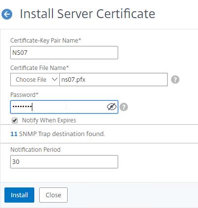 Certificates – NetScaler 12 / Citrix ADC 12 1 – Carl Stalhood
