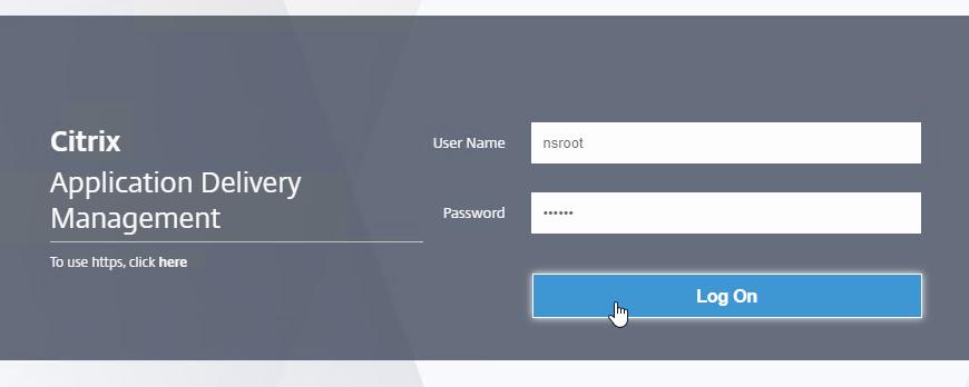 Citrix Application Delivery Management (ADM) 13