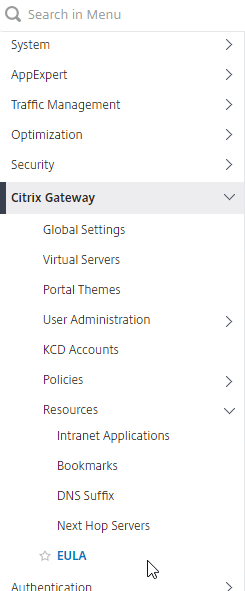 Gateway Tweaks – NetScaler Gateway 12 / Citrix Gateway 12 1 – Carl