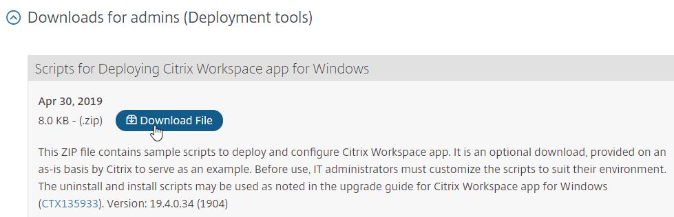 citrix workspace app download windows