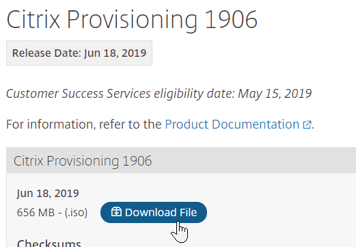 Citrix Provisioning – Carl Stalhood