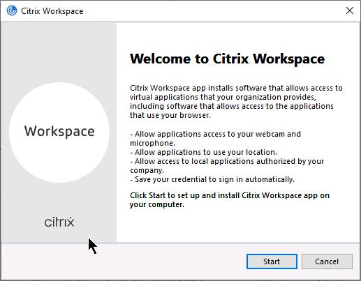 Citrix Silent Install