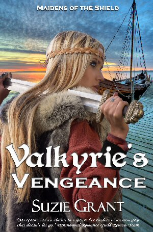 "CBLS – ""Valkyrie's Vengeance (Maidens of the Shield, Book 1)"" by Suzie Grant"