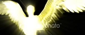 Angel Silhouette 2 - Stock Photo - iStock
