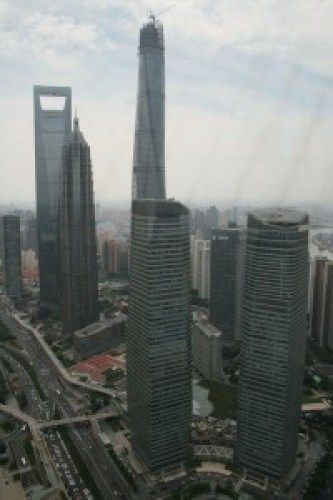 Views from the Oriental Pearl Tower, Shanghai