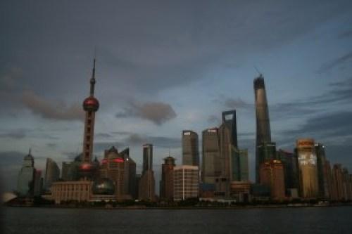Pudong At Dusk, Shanghai