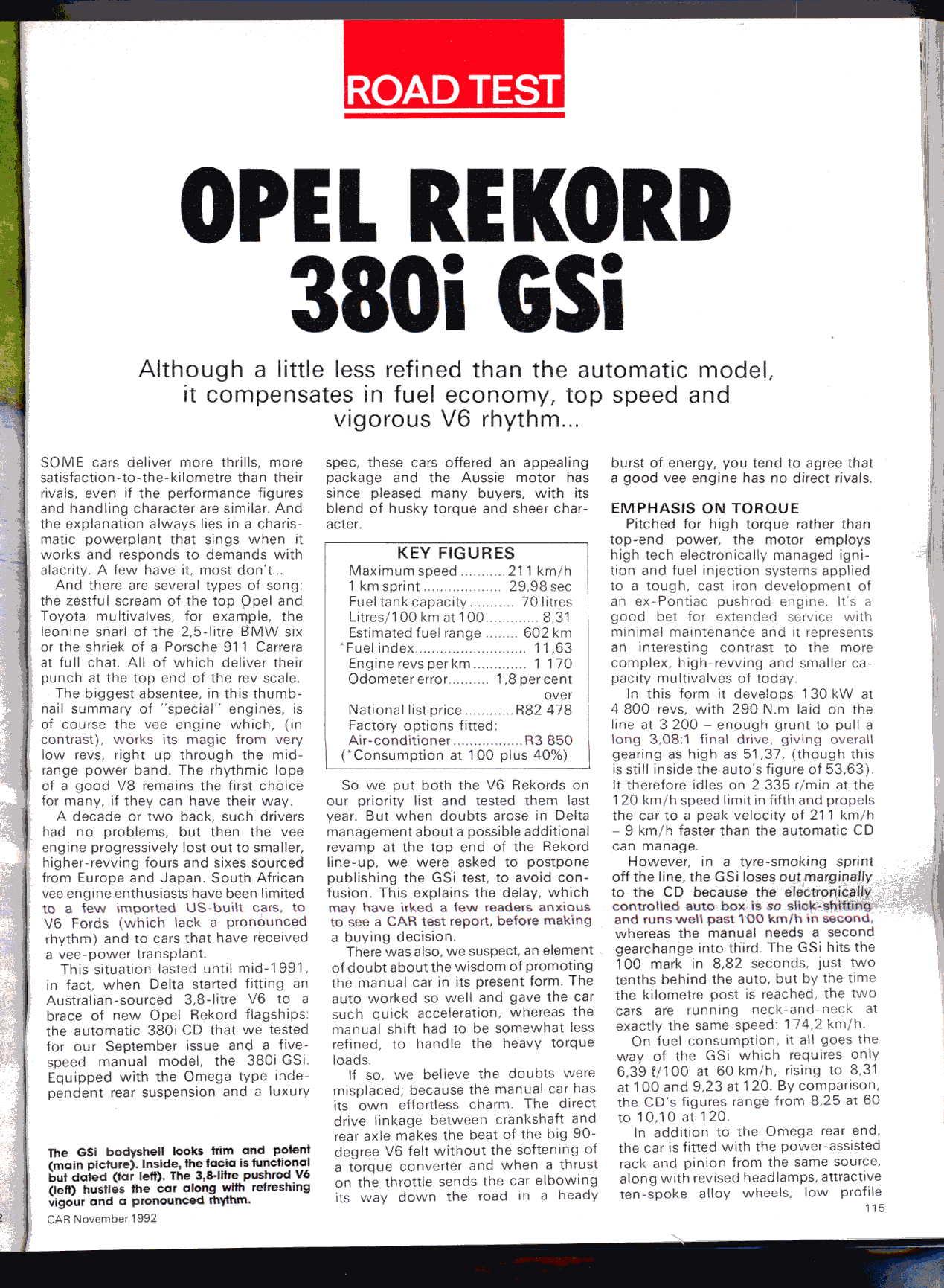 Opel Rekord Series E