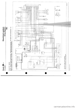 FIAT PUNTO 1997 176  1G Wiring Diagrams Workshop Manual
