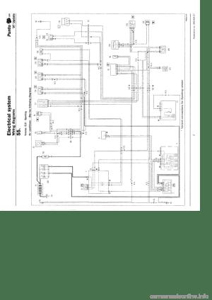 FIAT PUNTO 1997 176  1G Wiring Diagrams Workshop Manual