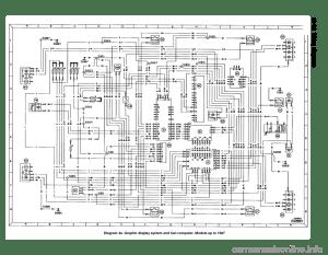 FORD SIERRA 1991 2G Wiring Diagrams Workshop Manual