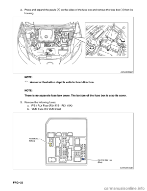 Nissan Note Fuse Box Diagram | Wiring Library