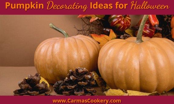 Pumpkin Decorating Ideas for Halloween