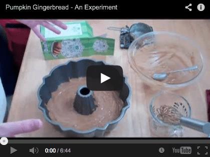 pumpkin gingerbread video