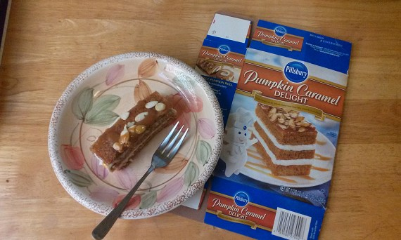 Pillsbury Pumpkin Caramel Delight mix
