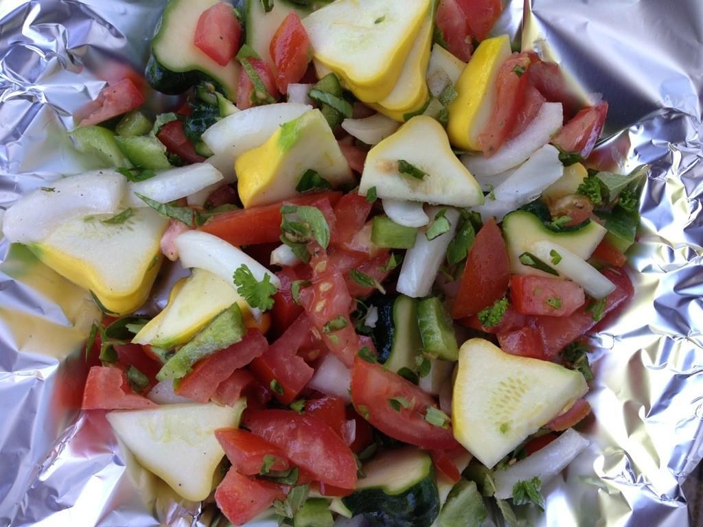 veggie dinner